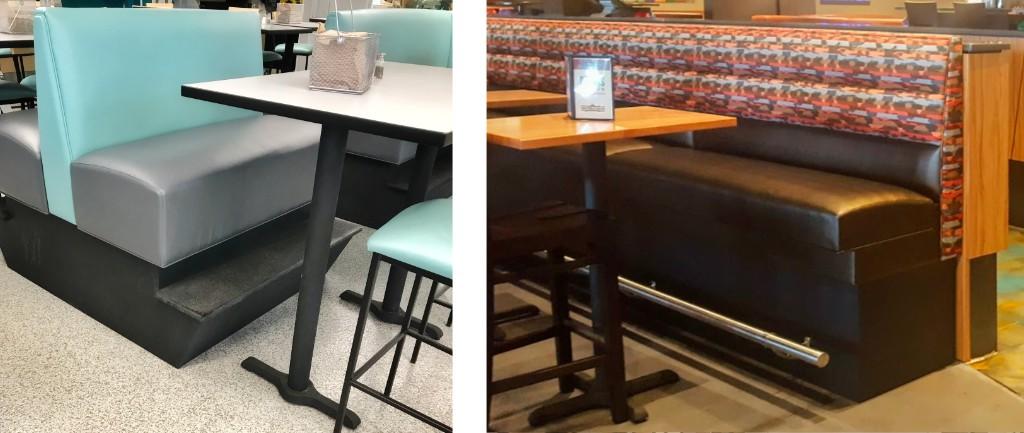 Tremendous Bar Height Restaurant Booths Furniturelab Uwap Interior Chair Design Uwaporg